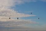 Globos por el cielo