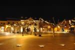 Plaza Mayor iluminada