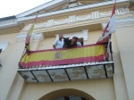 En balcón