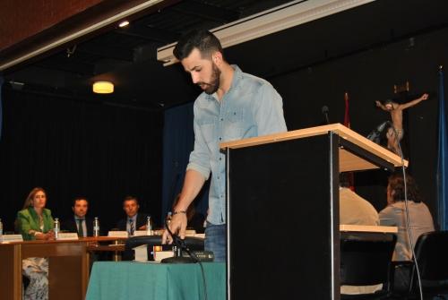 Diego Castaño, concejal del PSOE