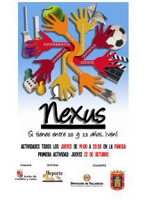 Cartel NEXUS 2.0 Simancas