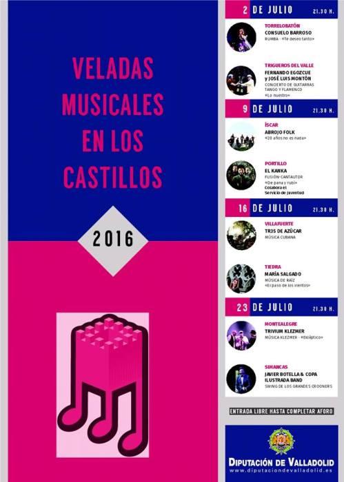 Veladas Musicales Castillos
