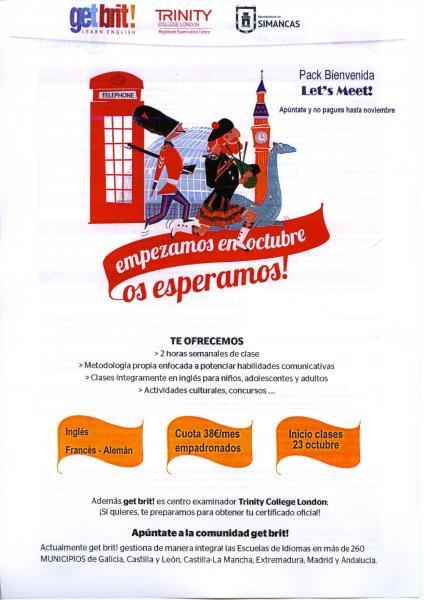 Cartel Escuela de Idiomas