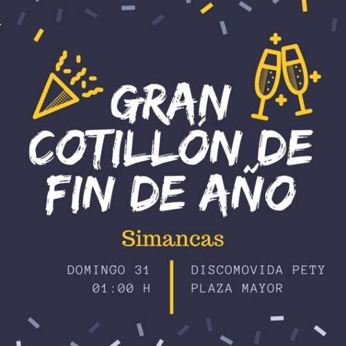 Cotillón en Simancas