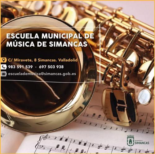 Inscripción Escuela de Musica Simancas
